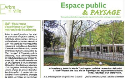 Revue Presse ELAF-FLEX | Espace Public et Paysage